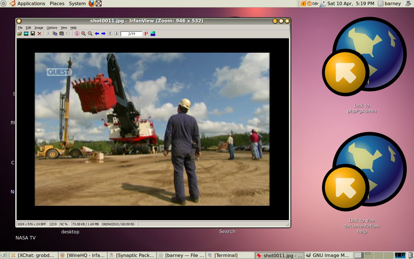 irfanview in linux Ireland and Elvis!