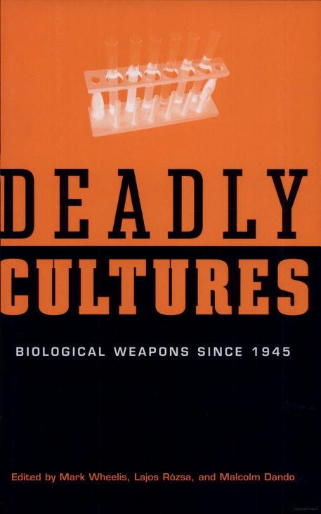 the threat of biological weapons The threat of biological weapons 188 presented by a biological attack demoralized individuals often lose their sense of social and group responsibilities and roles.